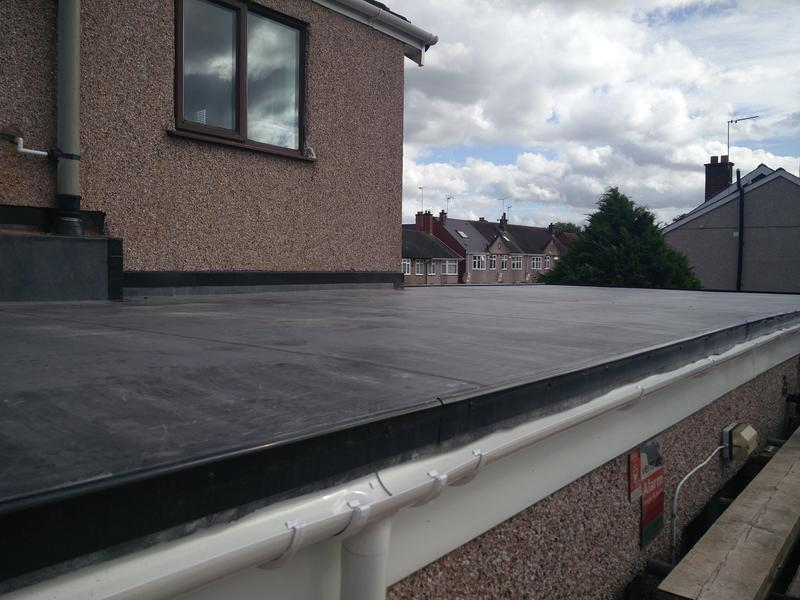 Image 30 - Complete Extension Roof Covering Replacement completed Sept, Stoke.