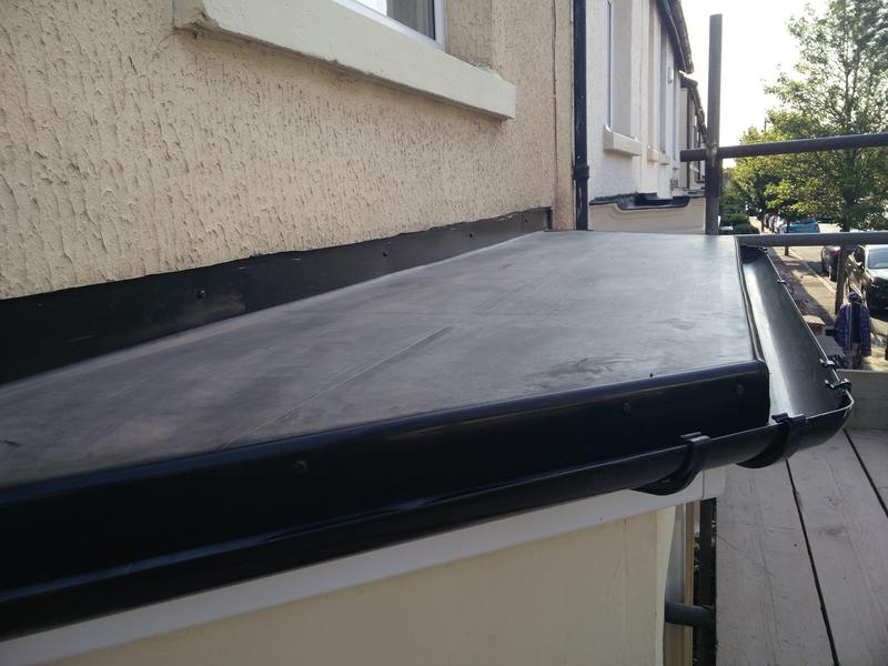 Image 29 - Complete Front Ground Floor Bay Roof Replacement, completed Sept, Stoke.
