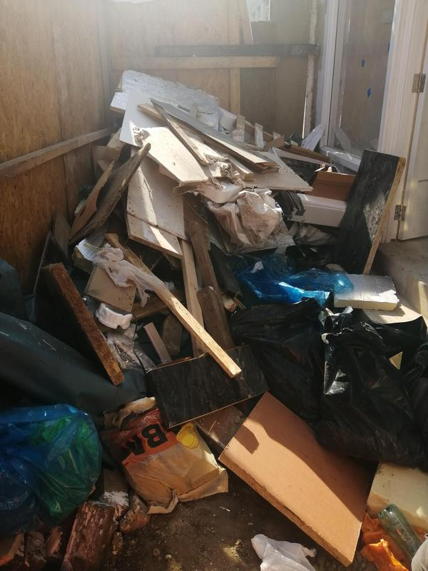 Image 129 - Waste /rubbish clearance, before and after.