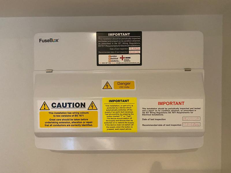 Image 2 - One of many consumer units we have replaced.
