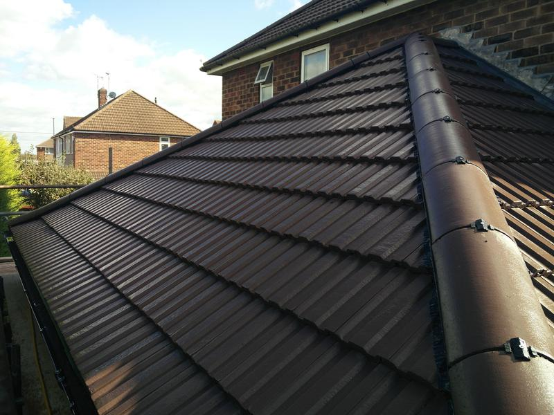 Image 20 - Side Roof Replacement, completed October, Keresley