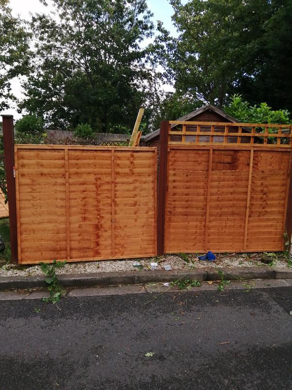 Image 122 - Fence/trellis repair and installation.