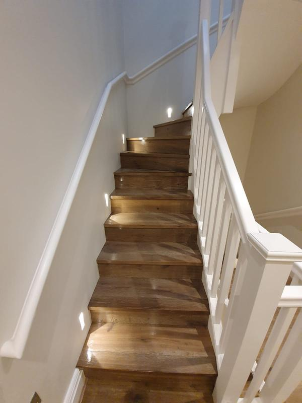 Image 11 - Stair cladding with custom made nousings