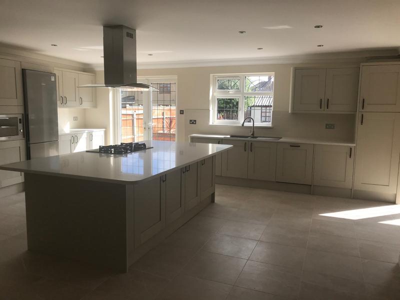 Image 6 - Rewiring, plastering, decoration, tiling, kitchen installation
