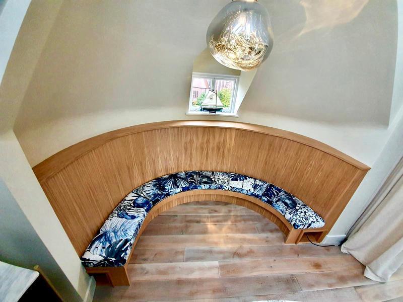 Image 2 - Bespoke oak seat