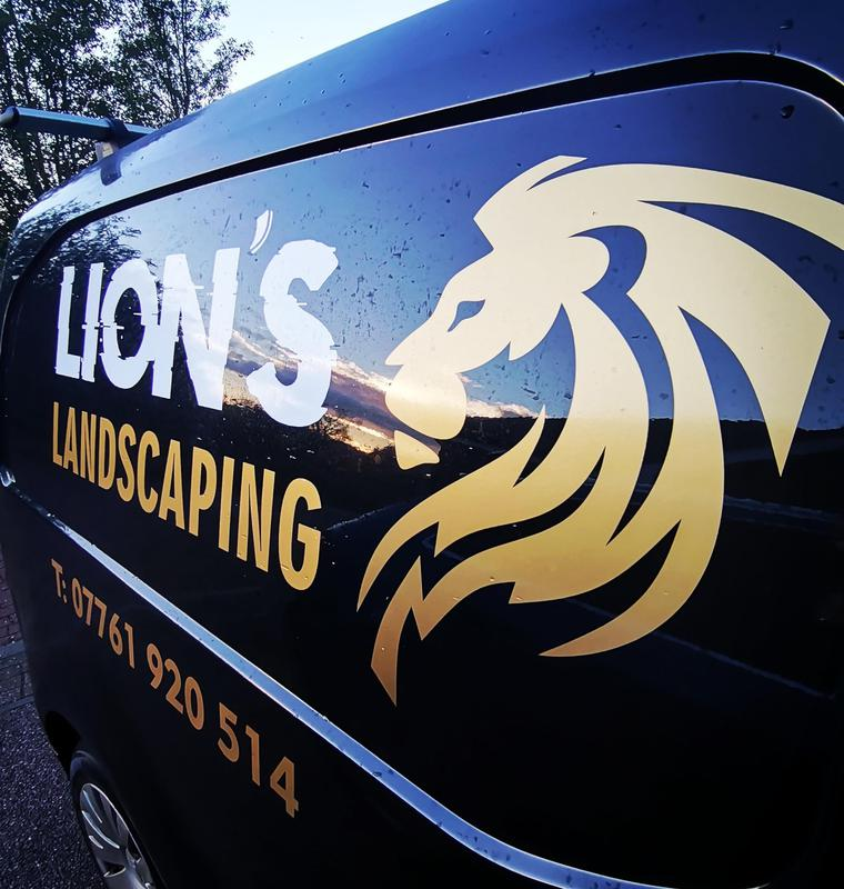 Lions Landscaping logo
