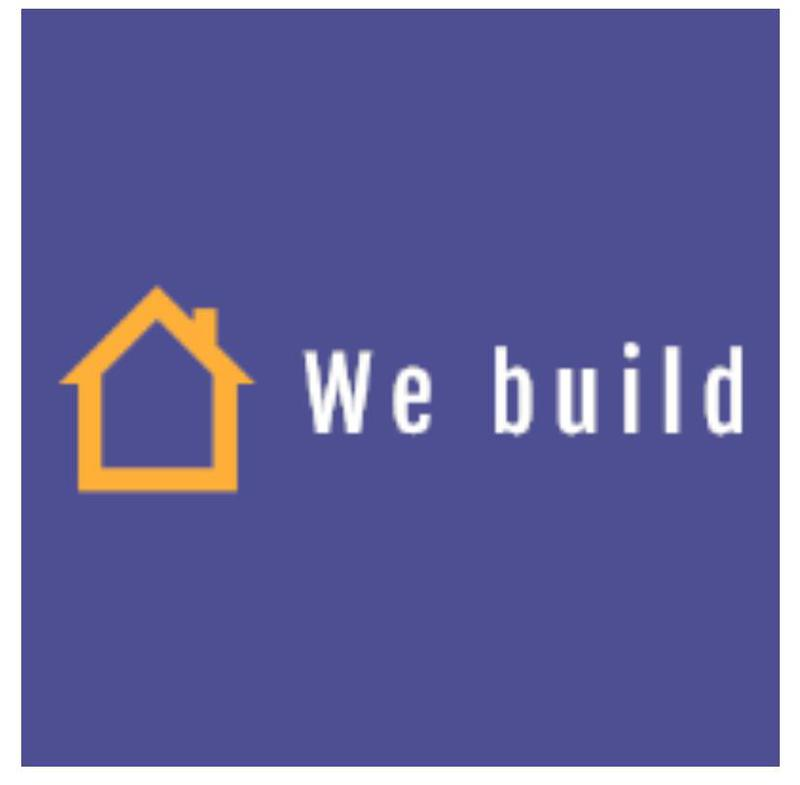 We Build logo