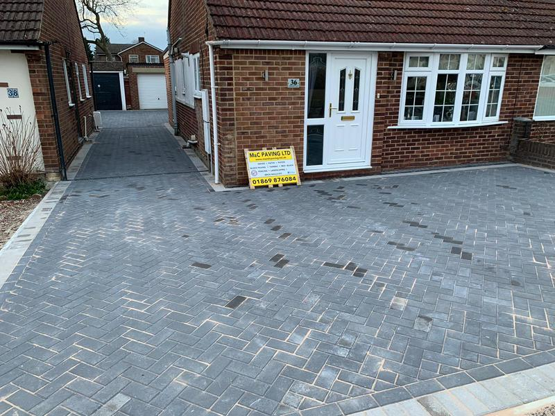 Image 2 - Lovely block paved driveway in Bicester.