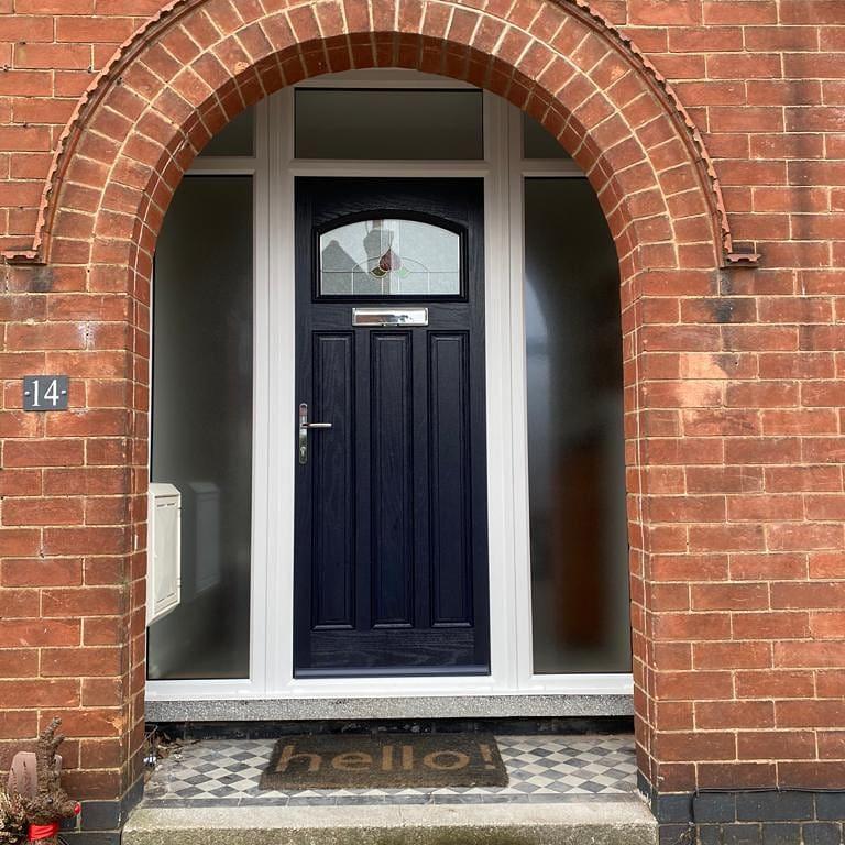 Image 29 - Distinction composite door, West Bridgford