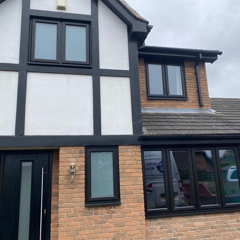 Image 7 - Black on White beautiful windows installed in Gamston