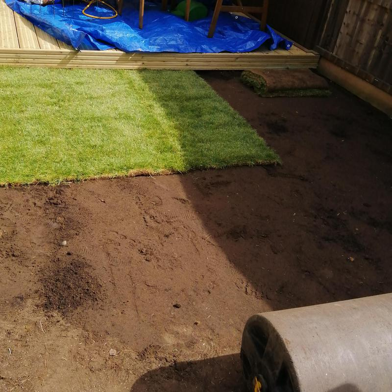 Image 31 - Returfing/new lawn