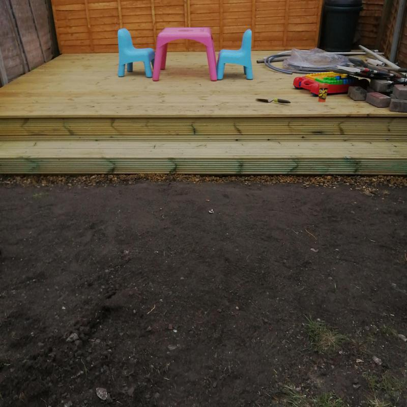 Image 27 - Supply and fit, new decking and step.