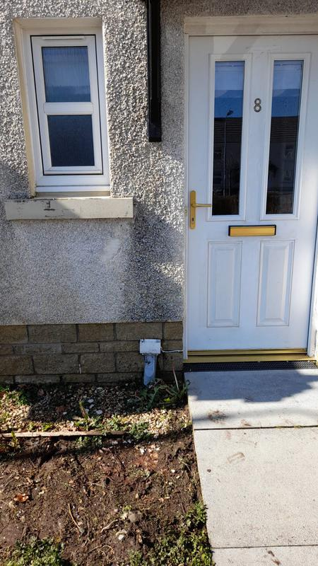 Image 4 - roughcast patch before