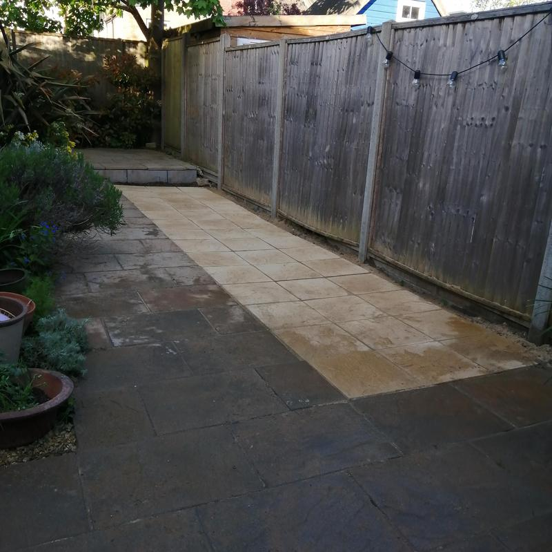 Image 13 - Extend to existing patio.