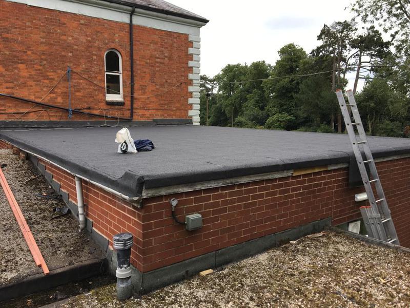 Image 2 - New felt roof
