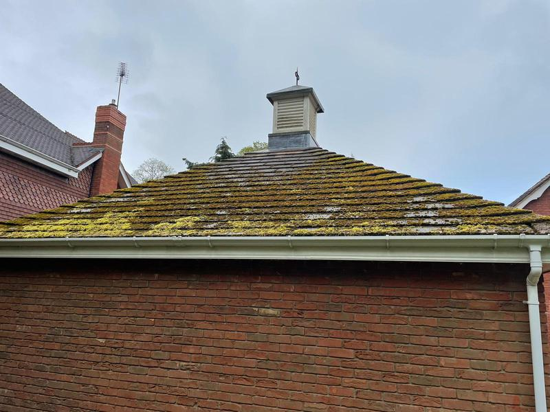 Image 1 - Pendress PowerClean Roof Cleaning - before