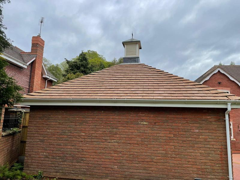 Image 3 - Pendress PowerClean Roof Cleaning - after