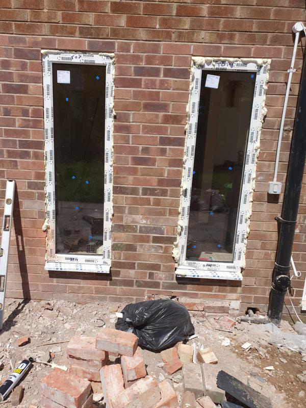 Image 4 - Brick wall and new windows installed Wirral, Cheshire