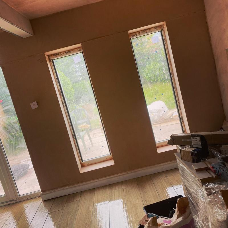Image 5 - Plastering completed for renovation in the Wirral, Cheshire
