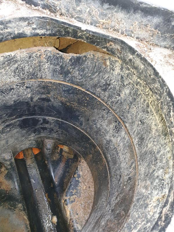 Image 2 - Rats have chewed through the sides of this inspect chamber to get out of the drain and out in to your garden.
