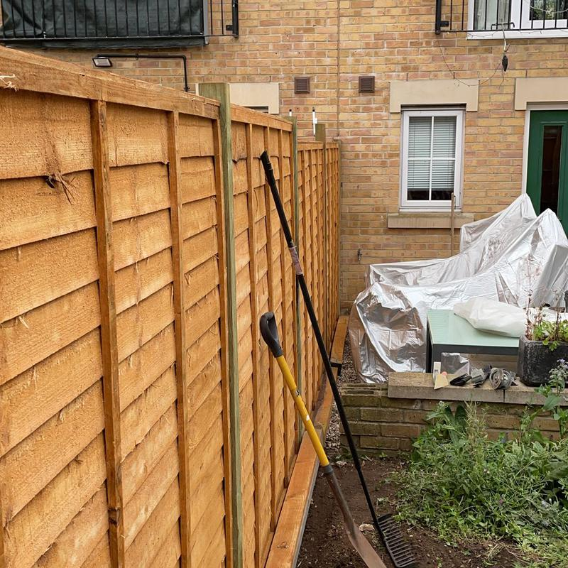 Image 5 - Supply and fit new panel fencing.