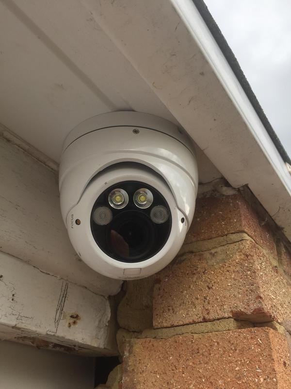 Image 1 - CCTV camera with white lights and infra red