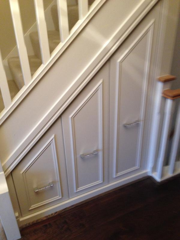 Image 44 - Under stairs draws