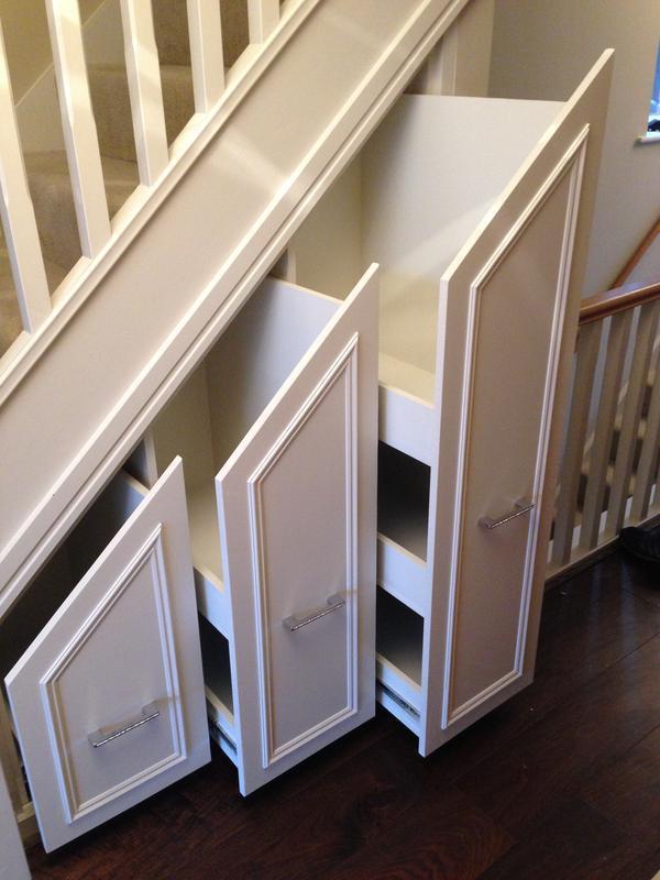 Image 43 - Under stairs draws