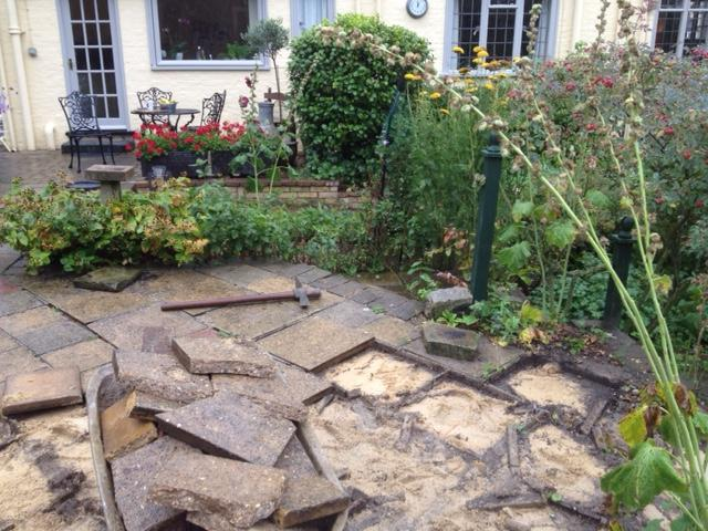 Image 1 - New sandstone patio build from start to completion