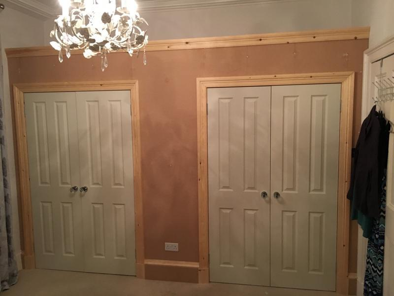 Image 16 - Fitted Wardrobes, Complete new Frame, Double doors, traditional pine architraves