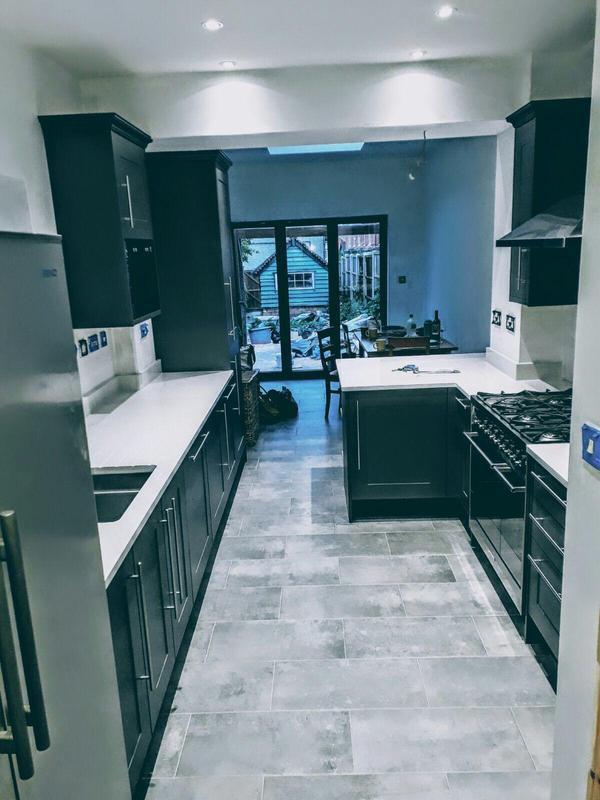 Image 27 - Kitchen Extension Internal
