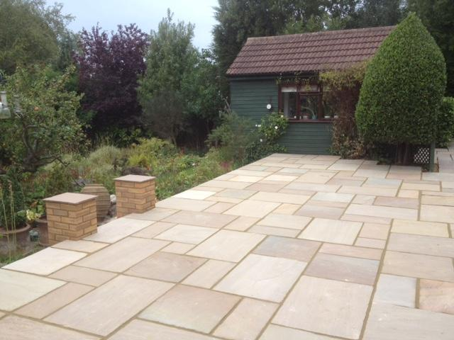 Image 5 - New sandstone patio build