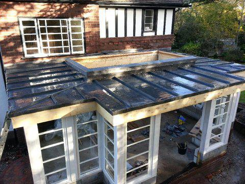 Image 2 - Large lead roof on listed property