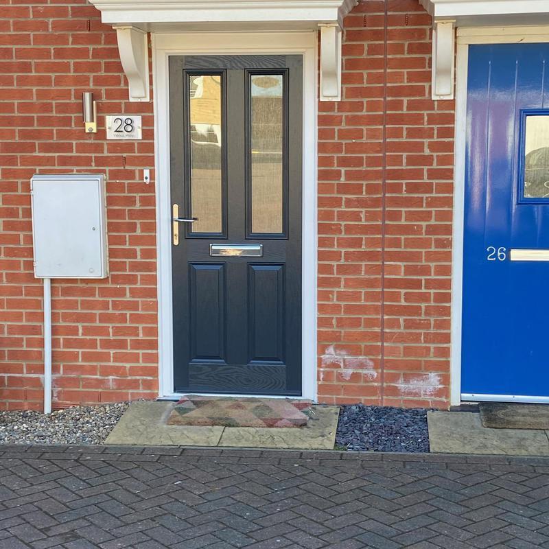 Image 6 - Composite door, anthracite, Cardea, Peterborough