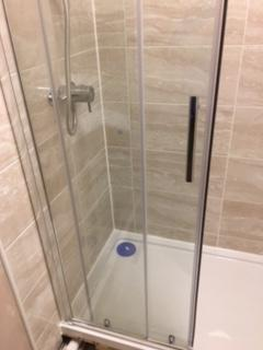 Image 11 - Replacement shower, tray, screen and tiles