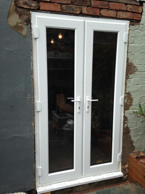 Image 28 - outside of bespoke sprayed French doors