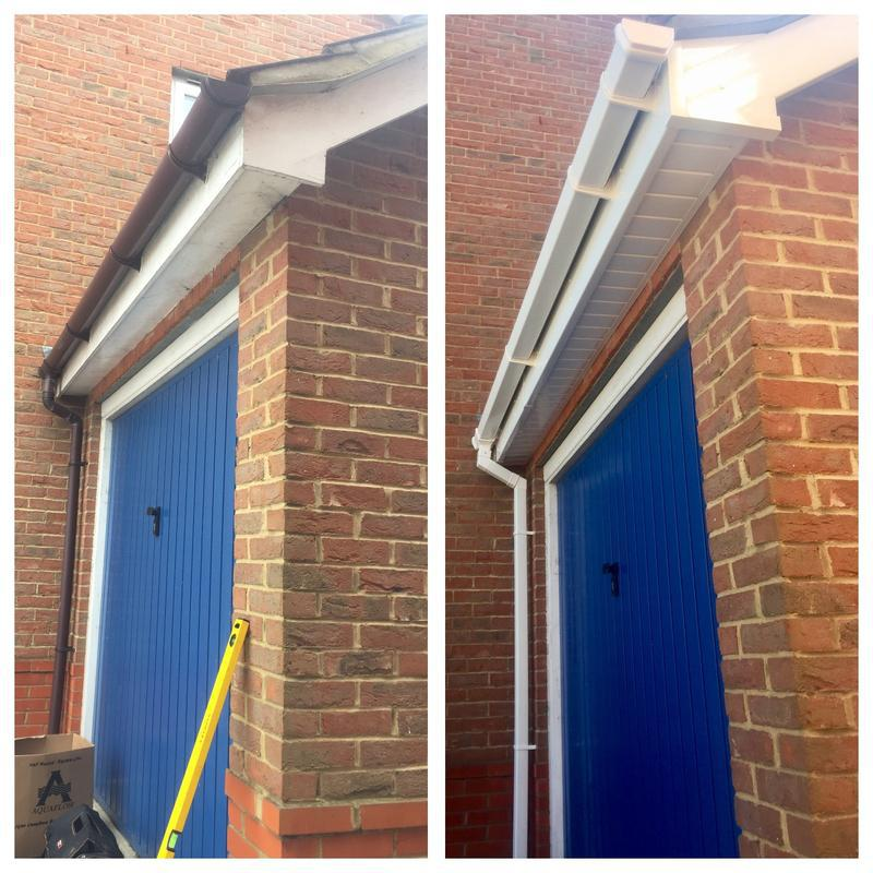Image 61 - New replacement fascias - soffits - guttering, in white upvc.
