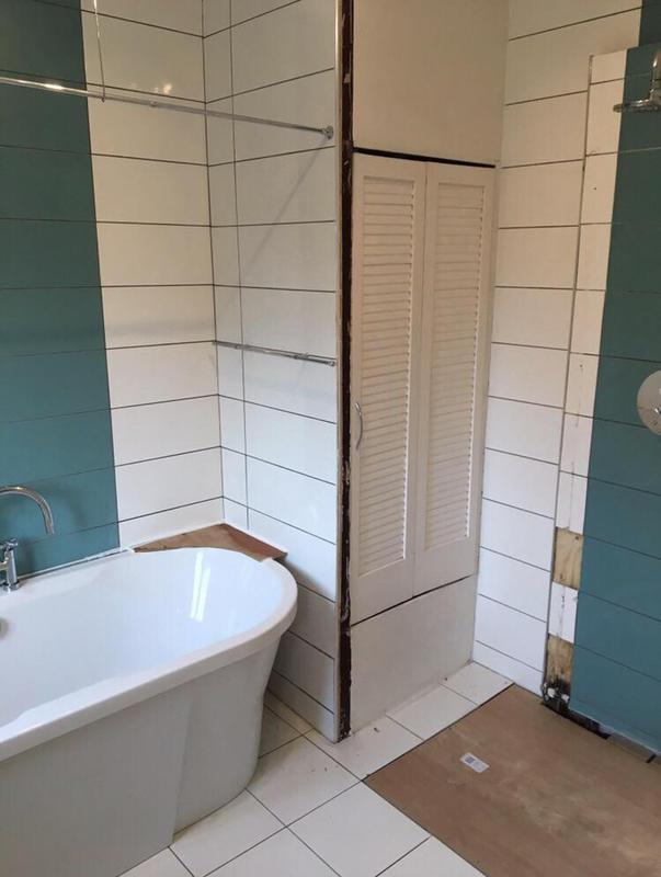 Image 49 - Before - Bathroom renovation FOLKESTONE