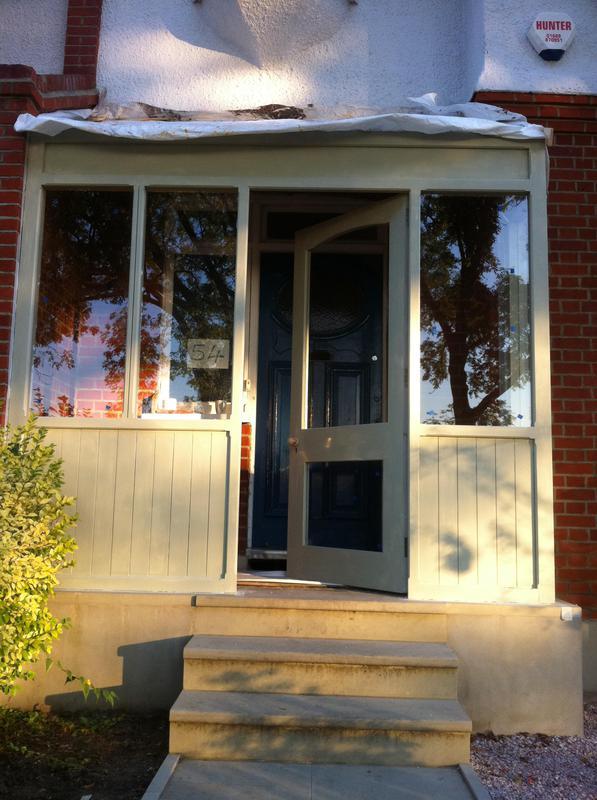 Image 39 - Wooden entrance porch
