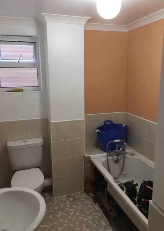 Image 166 - Before - Bathroom renovation FOLKESTONE