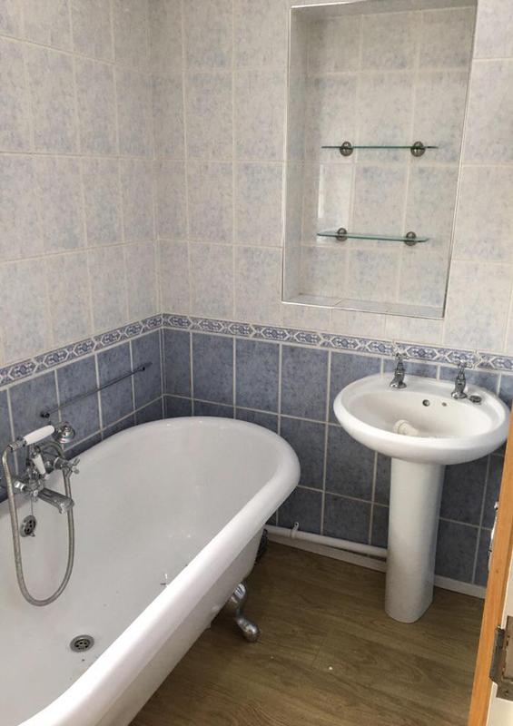 Image 169 - Before - bathroom update with shower wall panels FOLKESTONE