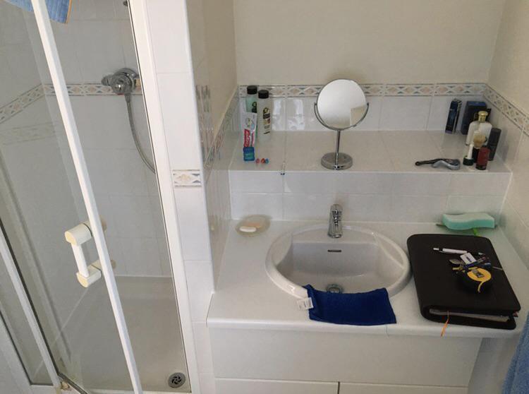 Image 112 - Before - Bathroom renovation HAWKINGE