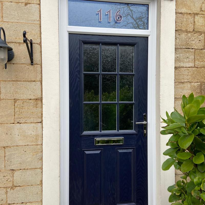 Image 7 - Composite door with top light, London Road, Peterborough