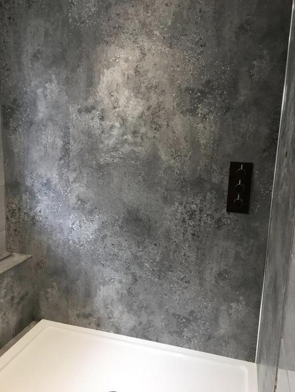 Image 129 - After - Bath to shower plus shower wall panels DYMCHURCH