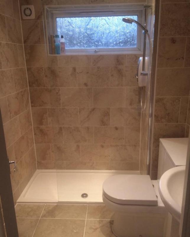 Image 131 - After - Bath to shower renovation FOLKESTONE