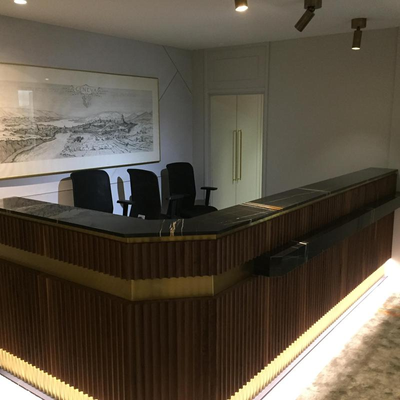 Image 5 - marble reception desk