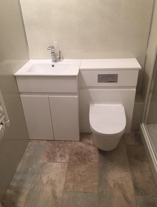 Image 177 - After - Bathroom update with shower wall boards - FOLKESTONE