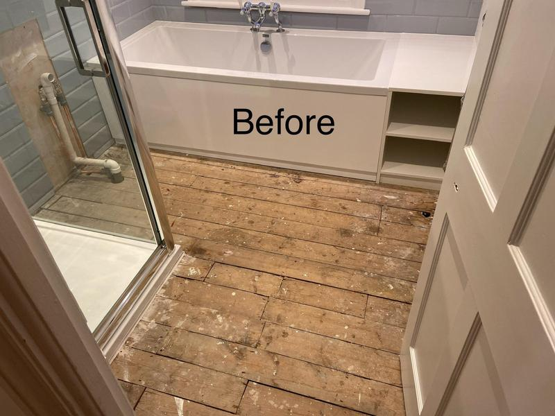 Image 9 - Property in Dulwich. Bathroom BEFORE PHOTO. November 2019