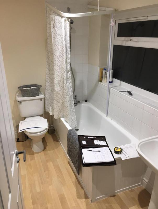 Image 62 - Before - Bathroom renovation FOLKESTONE