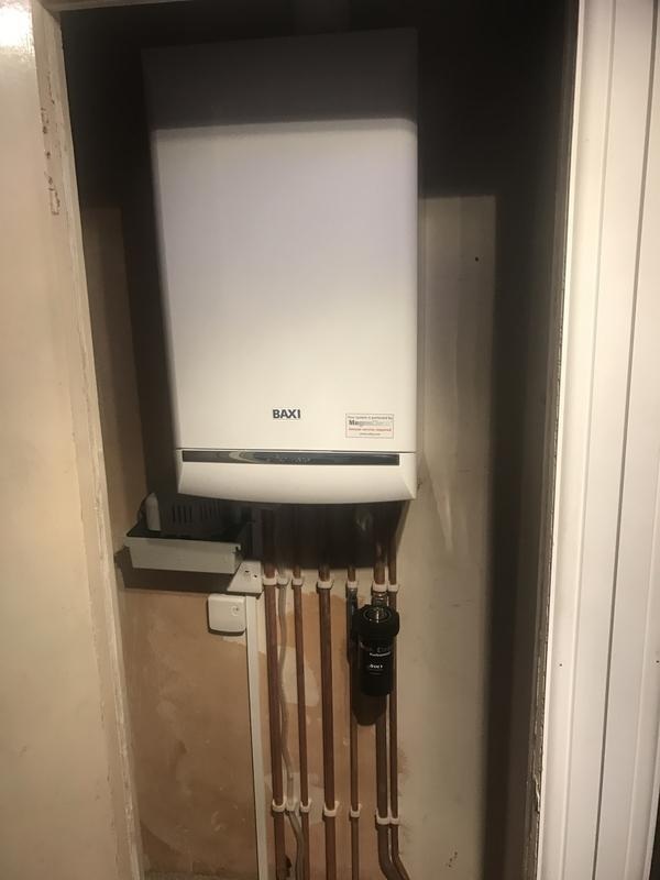 Image 4 - Baxi Duo-Tec 7year warranty fitted with magna-clean condense pump and Honeywell wireless controls